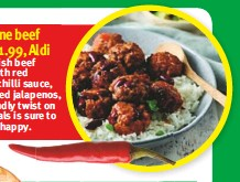 Chilli Con Carne Beef Meatballs 1 99 Aldi Pressreader