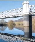 ??  ?? Revamped Logierait Bridge.