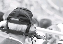 ?? ISTOCK ?? A man wears earmuffs at a racing event. Loud noise can cause other problems besides hearing loss, such as high blood pressure.