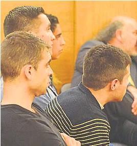 ?? LA VOZ/ARCHIVO ?? CONDENADOS. En 2017, los asaltantes de Cerro Norte, a los que el dueño de casa puso en fuga con una catana, recibieron diferentes penas de prisión.