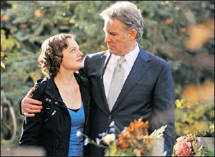 ?? — ALLIANCE FILMS ?? Elisabeth Moss (left) is Grace and Kevin Kline (right) is Joseph in the new comedy Darling Companion.