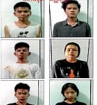 ?? AP ?? This image from an April 2021 news report by Myawaddy TV shows young people who security forces said they detained in a weapons raid in the Yankin township of Yangon.