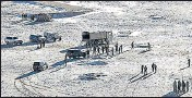 ?? AFP ?? The Indian Army releases visuals showing disengagement along the Line of Actual Control in Ladakh, on February 16.