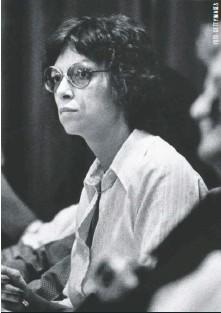 ??  ?? Carole Ann Boone se enamoró de Bundy en pleno proceso. Se casaron en el mismo tribunal en que él era juzgado, gracias a una curiosa ley de Florida.