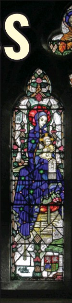 ??  ?? Our Lady and Child Adored by St Aidan of Fer Church of the Assumption, Bride Street, Wex