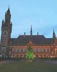 ?? YVES HERMAN / REUTERS FILES ?? The International Court of Justice in The Hague.