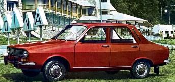 ??  ?? Румынская Dacia 1300 – копия французского переднеприводного Renault 12.