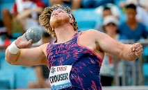 ?? PHOTO: REUTERS ?? Ryan Crouser won gold at the Rio Olympics last year and has been in imperious form ever since.