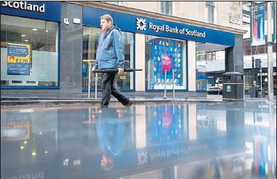 ??  ?? CHALLENGES AHEAD: RBS has had a tumultuous 2016, and 2017 is shaping up to be another taxing year for the state-backed bank.
