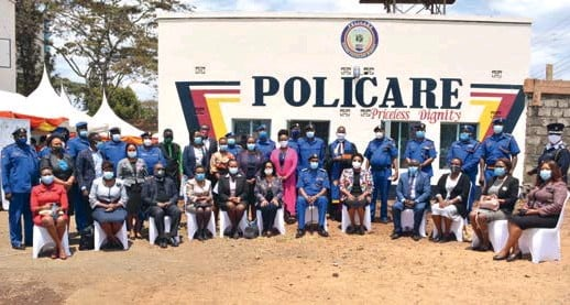 ??  ?? POLICARE is a National Police Service (NPS) integrated response to Sexual and Gender Based Violence (SGBV) in Kenya