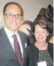 ??  ?? Minister of Finance Joe Ceci and his wife, Christine, were among the dignitaries in attendance at the 20th annual Immigrants of Distinction Awards.