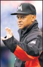 ?? By Howard Smith, US Presswire ?? Fill-in: Joey Cora will manage the Marlins for 5 games.