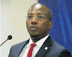 ?? INTERNET ?? El primer ministro interino haitiano, Claude Joseph.