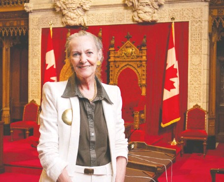 ?? MICHELLE COCHRANE FILES ?? Elaine Mccoy established an inquiry into supremacist activity in the province and was named to the Senate in 2005.