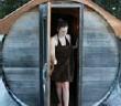 ??  ?? After a holistic spa treatment, guests can enjoy a Finnish sauna.