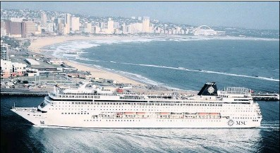 ??  ?? Development of a flourishing cruise line industry as well as the Richards Bay industrial development zone, right, are two of the projects open to potential investors.