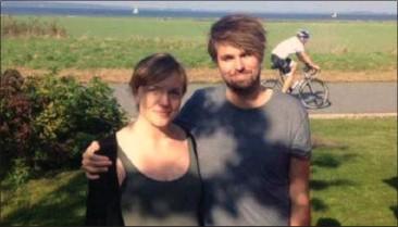??  ?? Lene og Tobias er kaerester i dag.