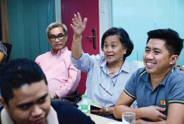 ??  ?? SOFTYPE Inc. Phil. Nana Luz and Davao City Chamber of Commerce & Industry, Inc. president Arturo M. Milan