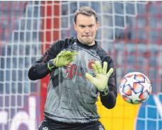 ?? FOTO: SVEN HOPPE/DPA ?? Bayern Münchens Torwart Manuel Neuer kommt nicht zur Ruhe.