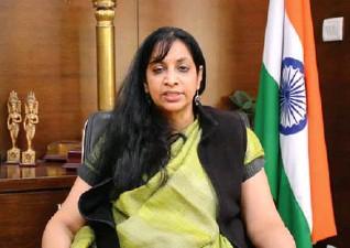 ??  ?? IT Secretary Aruna Sundararajan