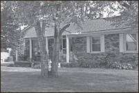 ?? Clarence Tabb Jr. / The Detroit News ?? This is the home of former Romulus Mayor Alan Lambert on Aug. 22, 2021, in Romulus. In 2013 the house was raided by state police.