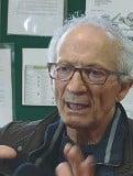 ??  ?? Ex allievo Gianni Bisoli, 67 anni