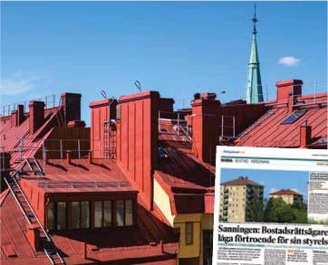 ?? FOTO: PRIVAT OCH MOSTPHOTOS ?? ERFAREN. Folke Höjmar har över 25 års erfarenhet av styrelsearbete, och startade för tio år sedan organisationen Boriks, Riksorganisationen för bostadsrättsinnehavare.