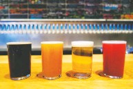 ?? LIZA WEISSTUCH FOR THE WASHINGTON POST ?? Mikkeller, known for its fiercely creative brews, has 42 bars around the world with its newest at Citi Field in Flushing.