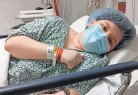 ?? PROVIDED BY STACY RODRIGUEZ ?? Isabell Rodriguez, 15, being prepared for surgery at the Cleveland Clinic, has seen her mother struggle with medical bills.