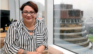 ?? CAMERON BURNELL ?? Green co-leader Metiria Turei is the political face that launched a thousand arguments.