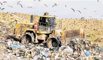 ?? Photo / Paul Taylor ?? A higher levy on waste going to landfill is among the measures being considered by the Government.
