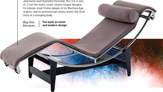 If Not The Most Iconic Chaise Longue Designs Its Tubular Steel Frame Speaks Of Machine Age Origins And Pronounced Curves Mimic Fluid
