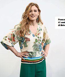 ??  ?? Francesca Fagnani, 41 anni, conduttrice di Belve e di Il prezzo.