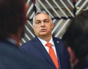 ?? Foto Reuters ?? Proti politiki Viktorja Orbána je poldrugi ducat držav članic EU.