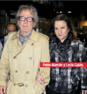 ??  ?? Pablo Alarcón y Lucía Galán.