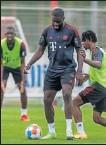 ??  ?? Entrenamiento del Bayern.