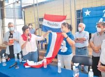 ??  ?? Mirian Irún de Alegre denunció la situación de su marido.