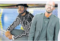 ??  ?? MENTORING: Well-known South African fashion designer Laduma Ngxokolo has teamed up with artist Nelson Makamo and singer Black Coffee to start an academy for talented young people