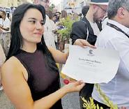 ??  ?? Sandra Melissa Torres, actriz natural.