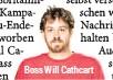 ??  ?? Boss Will Cathcart