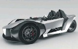 ?? GIRFALCO ?? The three-wheeled Azkarra S has three electric motors and can hit 100 km/h from rest in a claimed 2.5 seconds.