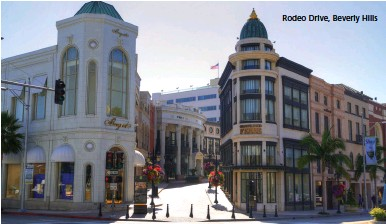 ??  ?? Rodeo Drive, Beverly Hills
