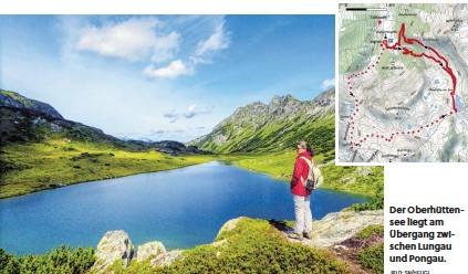 ?? BILD: SN/HEUGL ?? Der Oberhüttensee liegt am Übergang zwischen Lungau und Pongau.