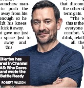 ?? ROBERT WILSON ?? Ollie Ollerton has appeared in Channel 4's SAS: Who Dares Wins and wrote the book Battle Ready