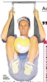 ?? Foto: Christof Birbaumer ?? Nach der Pause fühlt sich Rekordadler Gregor Schlierenzauer körperlich und mental fit für die Tournee.