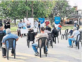 ?? MUNICIPALIDAD DE CÓRDOBA ?? DISTRITO. Los vecinos definen las obras que se realizarán en el territorio del CPC.