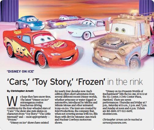 Pressreader Hartford Courant 2019 01 10 Cars Toy Story