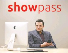 ?? JIM WELLS ?? CEO Lucas Mccarthy says Showpass's dramatic transforma­tion during the pandemic shows how quickly tech companies can pivot.