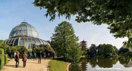 ??  ?? Royal Greenhouses of Laeken.