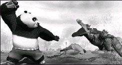 ?? NINTENDO ?? Kung Fu Panda has all the grace of a bar-room brawl, but it's totally cool.